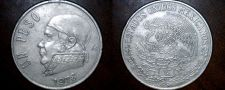 Buy 1978 Open 8 Mexican 1 Peso World Coin - Mexico