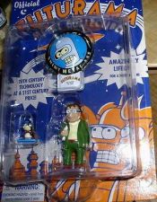 Buy Futurama Die Cast Metal Hermes, Nibbler & Bender rare