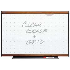 Buy Total Erase Marker Board 48x36 Inches White Frame Grid Whiteboard Marker Office