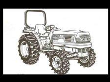 Buy KUBOTA L3010 L3410 L3710 L4310 L4610 MANUAL for Tractor Repair and Operations