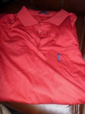 Buy Facconable Polo Shirt sz M RED EUC