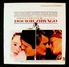 Buy DOCTOR ZHIVAGO *** 1965 Soundtrack LP / with Booklet