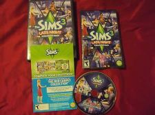 Buy THE SIMS 3 LATE NIGHT DVD PC & MAC DISC MANUAL CASE & ART NEAR MINT HAS CODE