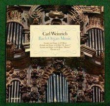 Buy BACH ORGAN MUSIC ~ Carl Weinrich 1962 Classical LP