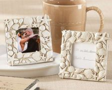 Buy Coastal Views Shell-Covered Photo Frame (Set of 36)