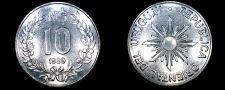 Buy 1989 10 Nuevos Pesos World Coin - Uruguay