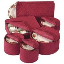Buy Quilted China Storage Cases Bag Saucer Salad Dishes Dessert Plates Picnic Travel