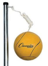 Buy Champion Sports Outdoor Tetherball Set Playground Backyard Game Kids Basketball