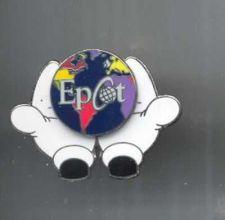 Buy Disney Mickey Epcot Retired hand Pin/Pins