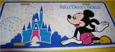 Buy Disney WDW Walt Disney World Mickey Mouse and Castle License Plate