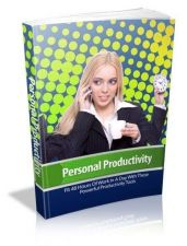Buy Personal Productivity Ebook + 10 Free eBooks With Resell rights ( PDF )