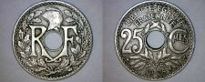 Buy 1926 French 25 Centimes World Coin - France