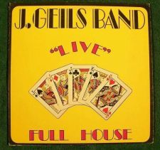 "Buy J. GEILS BAND ~ "" Live "" Full House 1972 Blues Rock LP"