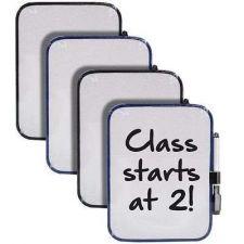 Buy Dry Erase Whiteboard w/ Marker Magnet Strips Pack of 4 Whiteboard Office Present