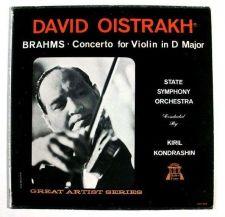Buy DAVID OISTRAKH ~ Brahms - Concerto for Violin in D Major LP
