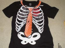 Buy Skeleton with Tie Shirt Size Large