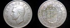 Buy 1950 New Zealand Half Crown World Coin