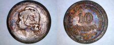 Buy 1925 Portuguese 10 Centavo World Coin - Portugal