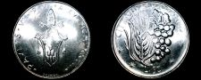 Buy 1977 Vatican City 50 Lire World Coin - Catholic Church Italy
