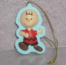 Buy Peanuts Charlie Brown full body with Christmas tree ornament