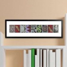 Buy Architectural Elements II Color Family Name Print - Free Personalization