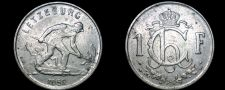 Buy 1952 Luxembourg 1 Franc World Coin