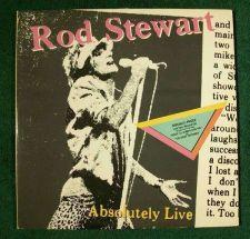 Buy ROD STEWART ~ Absolutely Live 1982 DOUBLE Rock LP
