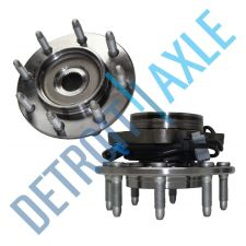 Buy 2 NEW Front Wheel Hub and Bearing Assembly w/ ABS 4X4 AWD 8 LUGS