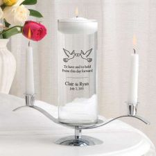 Buy Floating Unity Candle Set - Free Personalization - Over 30 Image Choices