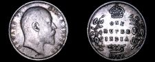 Buy 1906 C Indian 1 Rupee World Silver Coin - British India