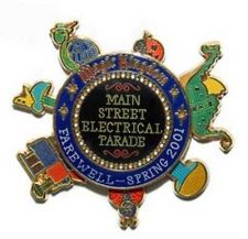 Buy Main Street Electrical Parade spinner Authentic Disney Pin/Pins