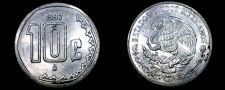 Buy 1997 Mexican 10 Centavo World Coin - Mexico