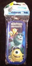 Buy Monsters Inc Fork & Spoon W/Travel Case - New! Great for Daycare, School Lunch