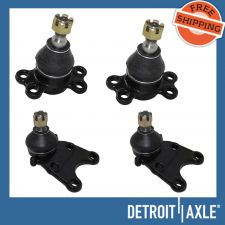 Buy Set of 4 NEW LH RH Front Lower and Upper Suspension Ball Joint Kit