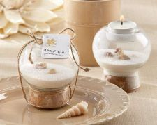 Buy Sand and Shell Tealight Holder (Set of 24) - Free Personalized Tags