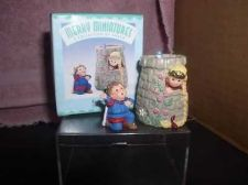 Buy Rapunzel Merry Miniature Hallmark dated 1998 2 ornament set
