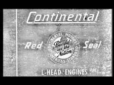 Buy CONTINENTAL Red Seal L-HEAD 4 & 6 Cyl. ENGINE MANUAL F124 F140 F162 N62 Y69 Y91