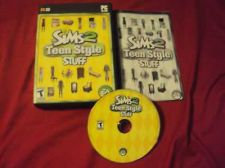Buy Sims 2 TEEN STYLE PC DISC MANUAL ART & CASE NRMNT HAS CODE SHIPS SAME DAY / NEXT