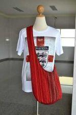 Buy THAI HANDMADE RED TRIBAL CROSS BODY SHOULDER SLING COTTON BAG HIPPIE HOBO STYLE