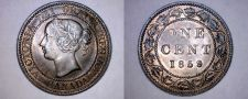 Buy 1859 Canada 1 Large Cent World Coin - Canada