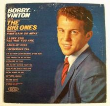 Buy BOBBY VINTON ~ Bobby Vinton Sings The Big Ones 1962 Pop Rock LP