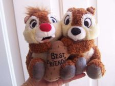 Buy VINTAGE SOLD OUT Disney World Chip & Dale Chipmunk Best Friends Plush