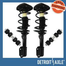 Buy 2 NEW Front L/R Ready Struts + 2 NEW Sway Bar Links Chevrolet,Oldsmobile,Pontiac
