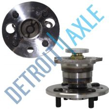 Buy Pair of 2 - NEW Rear Driver and Passenger Wheel Hub and Bearing FWD w/ ABS