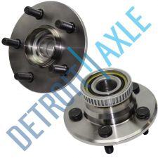 Buy Pair of 2 - NEW Rear Driver and Passenger Wheel Hub and Bearing Assembly