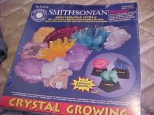 Buy complete Giant 9 CRYSTAL GROWING lab set w/6 pedistals