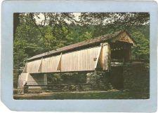 Buy New York Beaverkill Covered Bridge Postcard Bridge At Beaverkill Public Ca~488