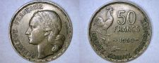 Buy 1953 French 50 Franc World Coin - France