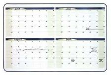 Buy 4 Month Dry Erase Planner Board 23x35 Inches Black Frame Whiteboard Marker Offic
