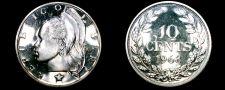 Buy 1968 Liberian 10 Cent Proof World Coin - Liberia